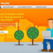 Imagen web Itaú PayPal
