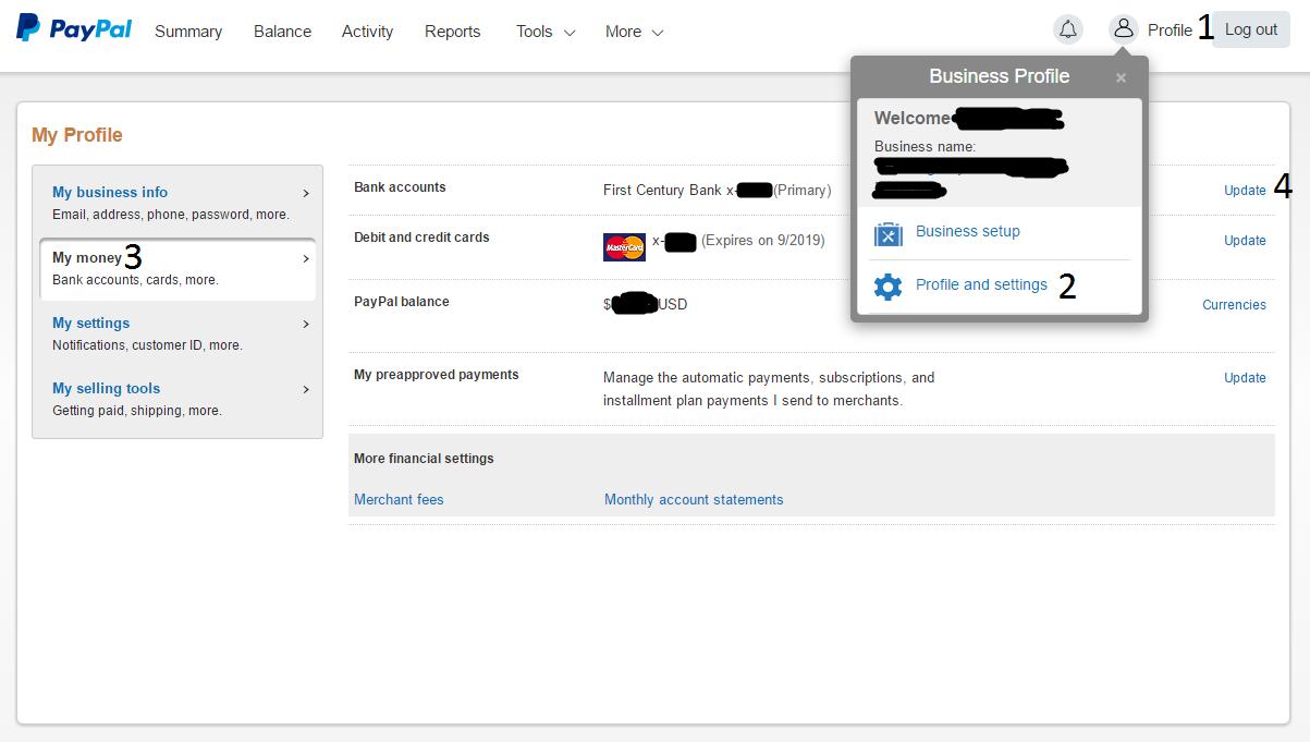 Conectar tu cuenta PayPal a Payoneer
