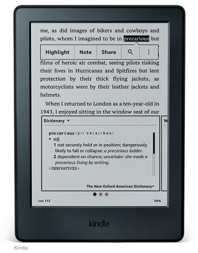 Lector de ebook Amazon Kindle