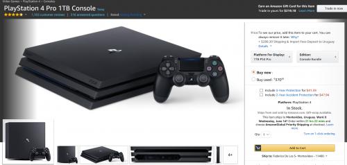 Comprar consolas PlayStation 4 Pro 1TB Console